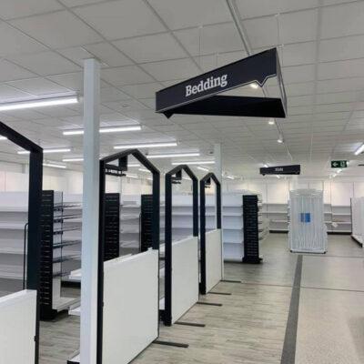 Dunelm, Retail Refurbishment Project by MCS Interiors