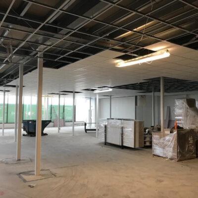Dunelm, Stoke Ceiling Solution Installation