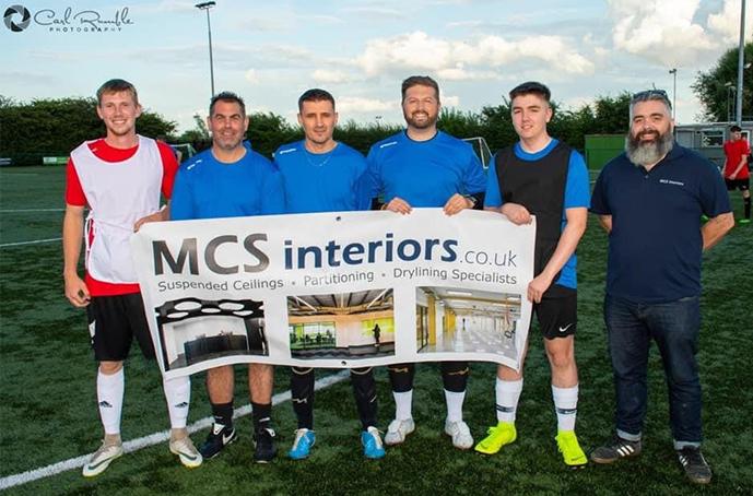 MCS Interiors Supporting local team